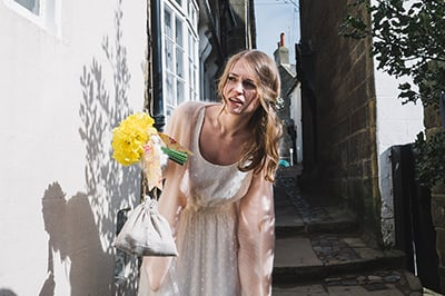 Robin Hoods bay Wedding Photographer
